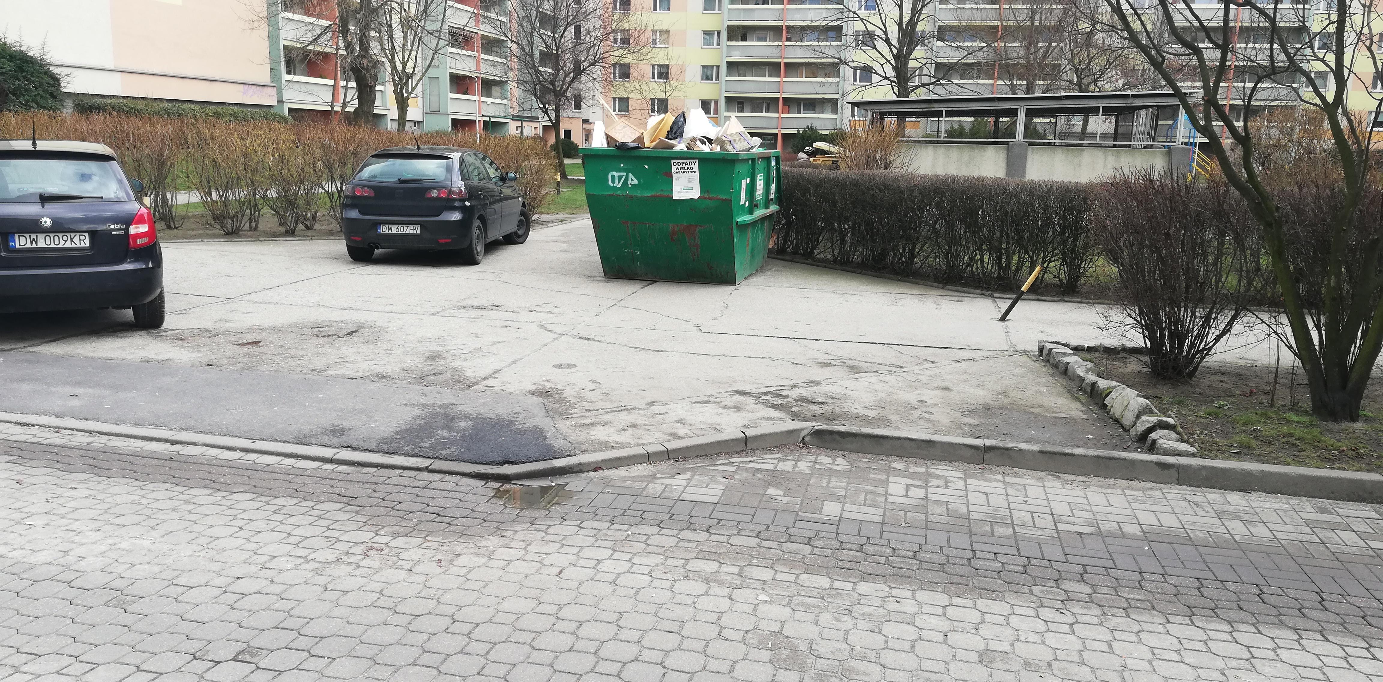 Wskazanie miejsc do składowania odpadów wielkogabarytowych