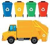 Likwidacja boksu na odpady komunalne przy ulicy Idzikowskiego 6